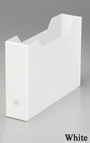 ファイルボックススリムホワイト